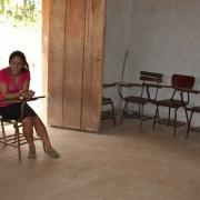 Ecole Tercero avec un sol en ciment